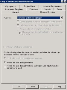 Request handling